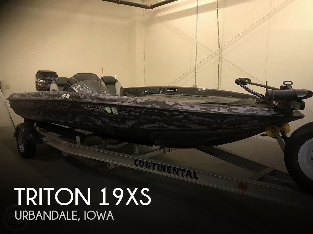 Used Boats For Sale in Des Moines, Iowa by owner | 2014 Triton 19xs