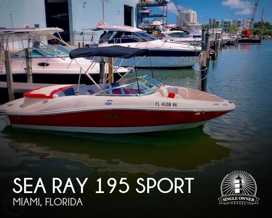 2007 Sea Ray boat for sale, model of the boat is 195 Sport & Image # 1 of 42