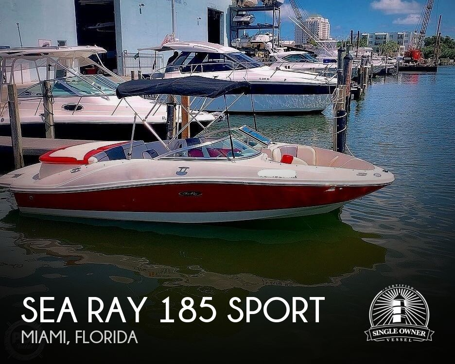 2007 Sea Ray boat for sale, model of the boat is 185 Sport & Image # 1 of 42