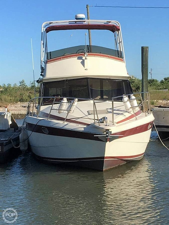 1987 Burns Craft boat for sale, model of the boat is 41 Sportfish & Image # 2 of 40