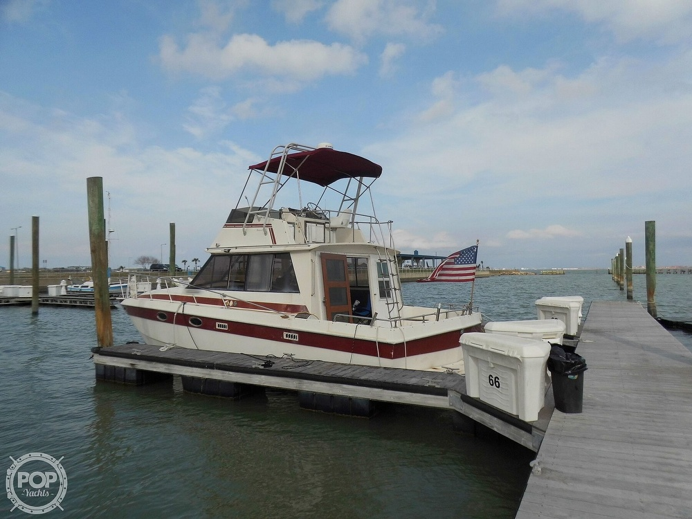 1987 Burns Craft boat for sale, model of the boat is 41 Sportfish & Image # 3 of 40
