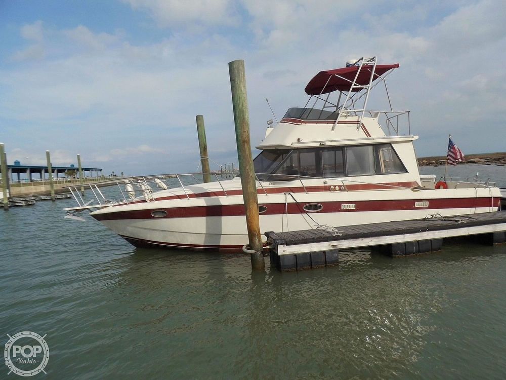 1987 Burns Craft boat for sale, model of the boat is 41 Sportfish & Image # 5 of 40