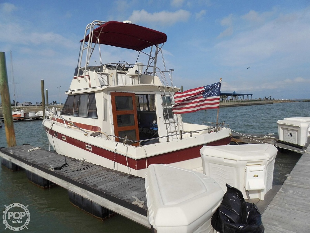 1987 Burns Craft boat for sale, model of the boat is 41 Sportfish & Image # 6 of 40