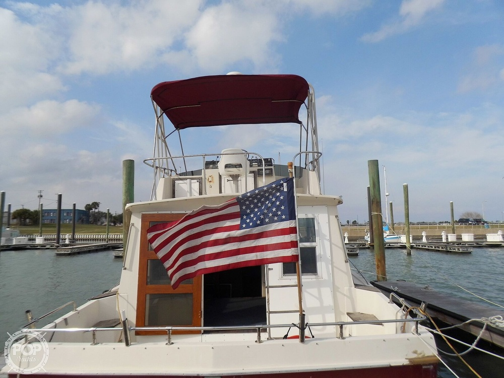 1987 Burns Craft boat for sale, model of the boat is 41 Sportfish & Image # 9 of 40