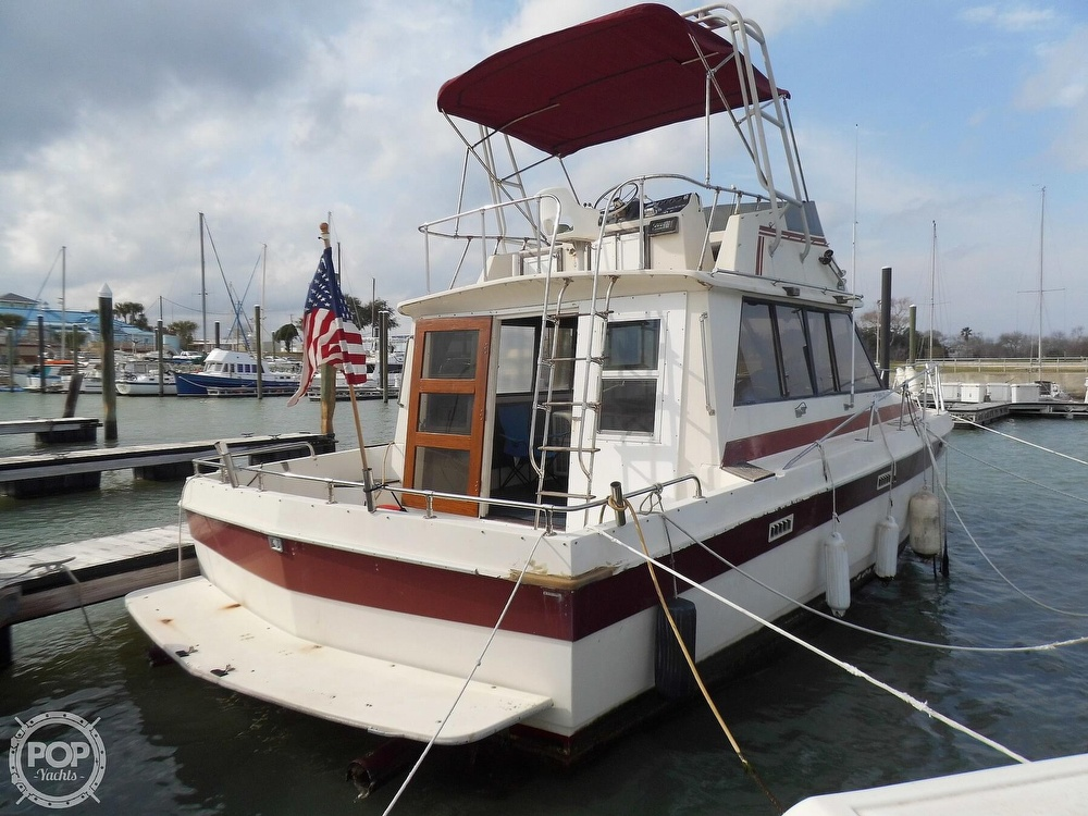 1987 Burns Craft boat for sale, model of the boat is 41 Sportfish & Image # 10 of 40