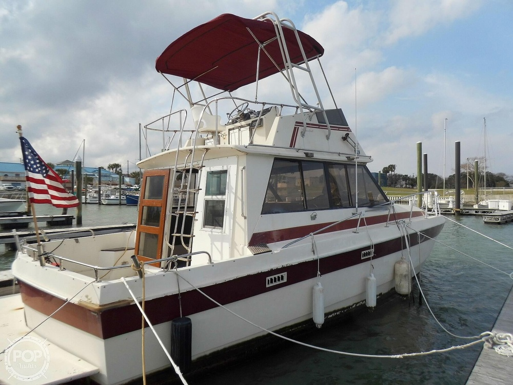1987 Burns Craft boat for sale, model of the boat is 41 Sportfish & Image # 11 of 40