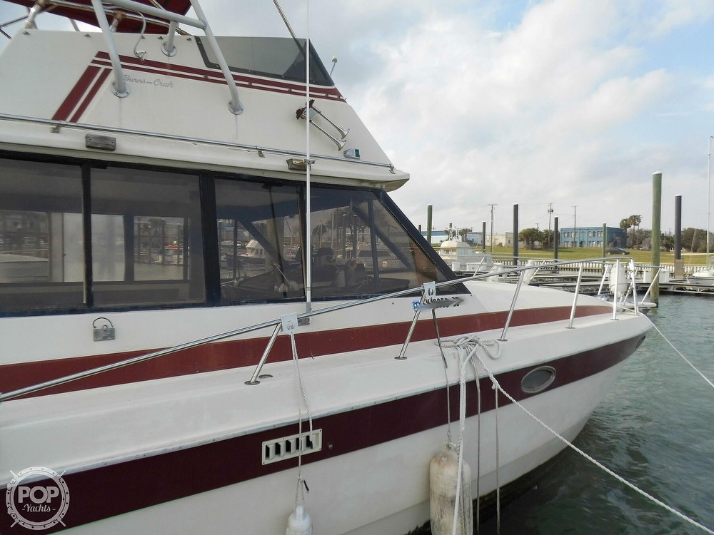 1987 Burns Craft boat for sale, model of the boat is 41 Sportfish & Image # 12 of 40