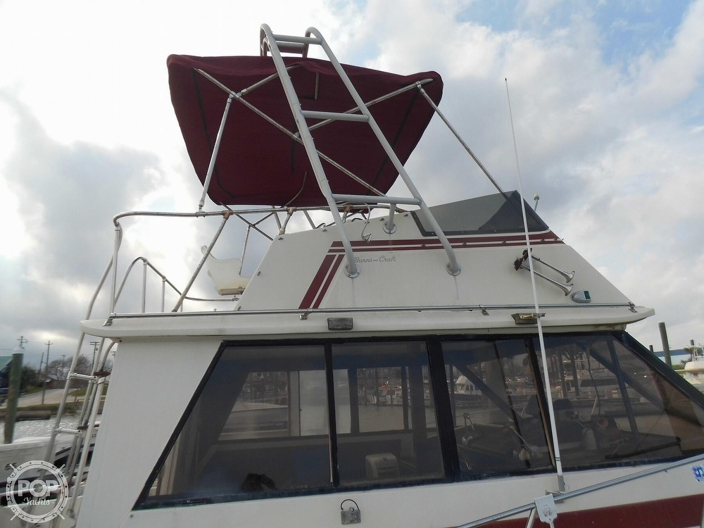 1987 Burns Craft boat for sale, model of the boat is 41 Sportfish & Image # 13 of 40