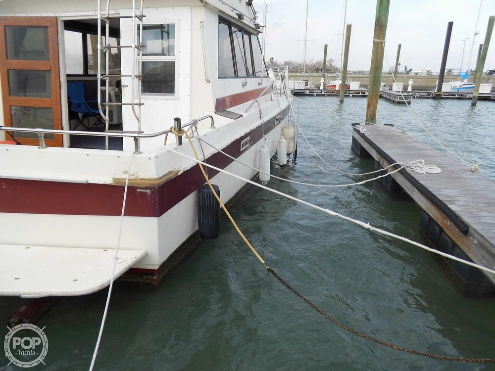 1987 Burns Craft boat for sale, model of the boat is 41 Sportfish & Image # 16 of 40