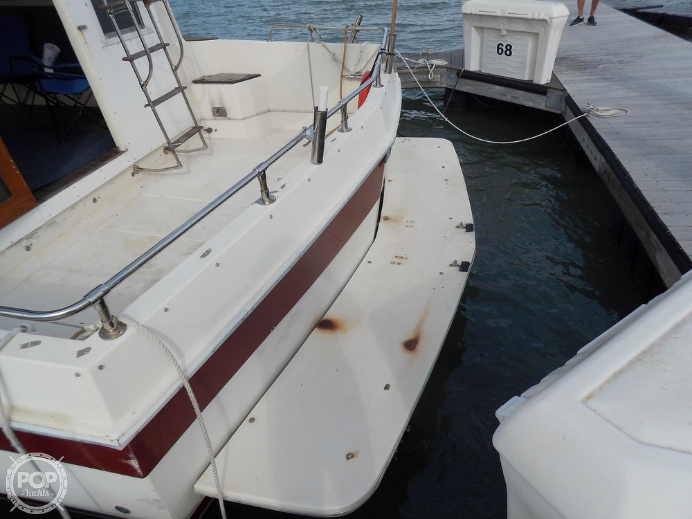 1987 Burns Craft boat for sale, model of the boat is 41 Sportfish & Image # 19 of 40