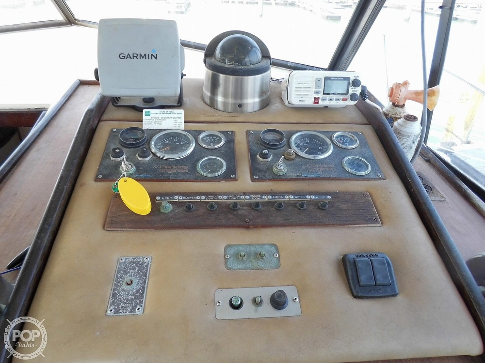 1987 Burns Craft boat for sale, model of the boat is 41 Sportfish & Image # 31 of 40