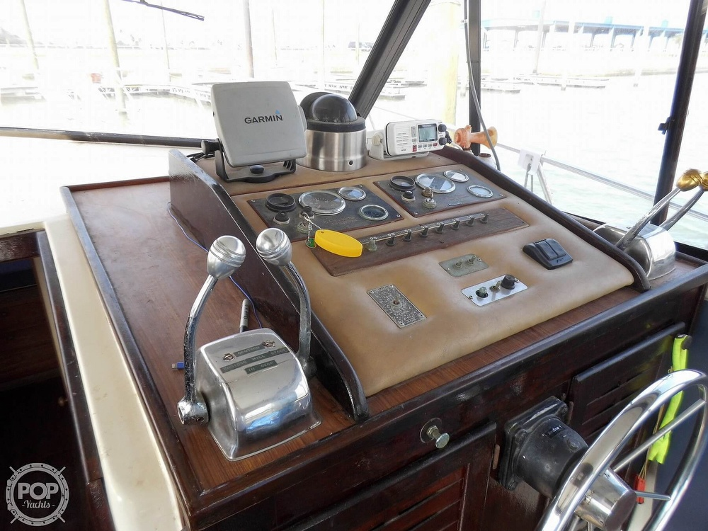 1987 Burns Craft boat for sale, model of the boat is 41 Sportfish & Image # 39 of 40