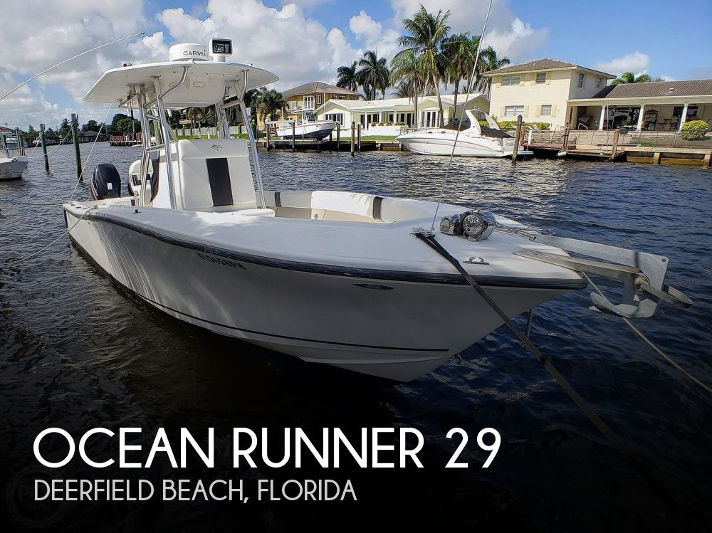 Used Ocean Runner Boats For Sale by owner | 2012 Ocean Runner 29 Center Console