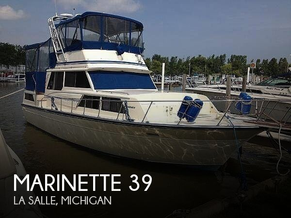 Used Motoryachts For Sale in Michigan by owner | 1985 Marinette 39
