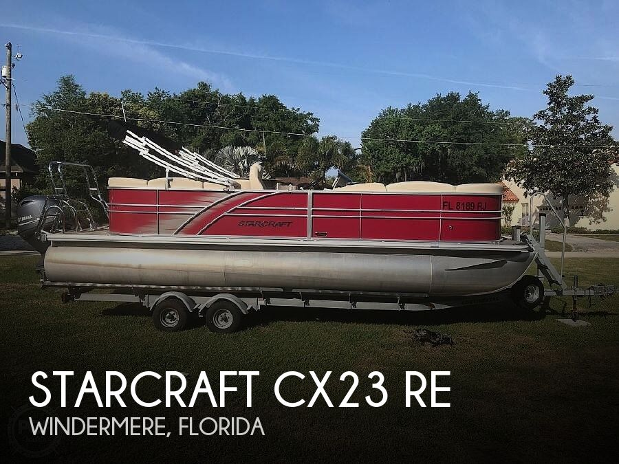 Used Pontoon Boats For Sale in Florida by owner | 2016 Starcraft Cx23 Re