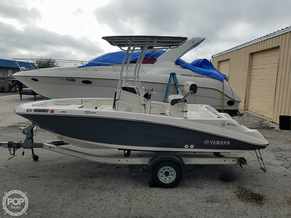 2016 Yamaha boat for sale, model of the boat is 190 FSH Sport & Image # 12 of 40