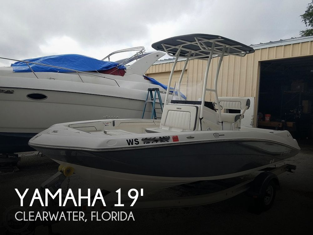 2016 Yamaha boat for sale, model of the boat is 190 FSH Sport & Image # 1 of 40