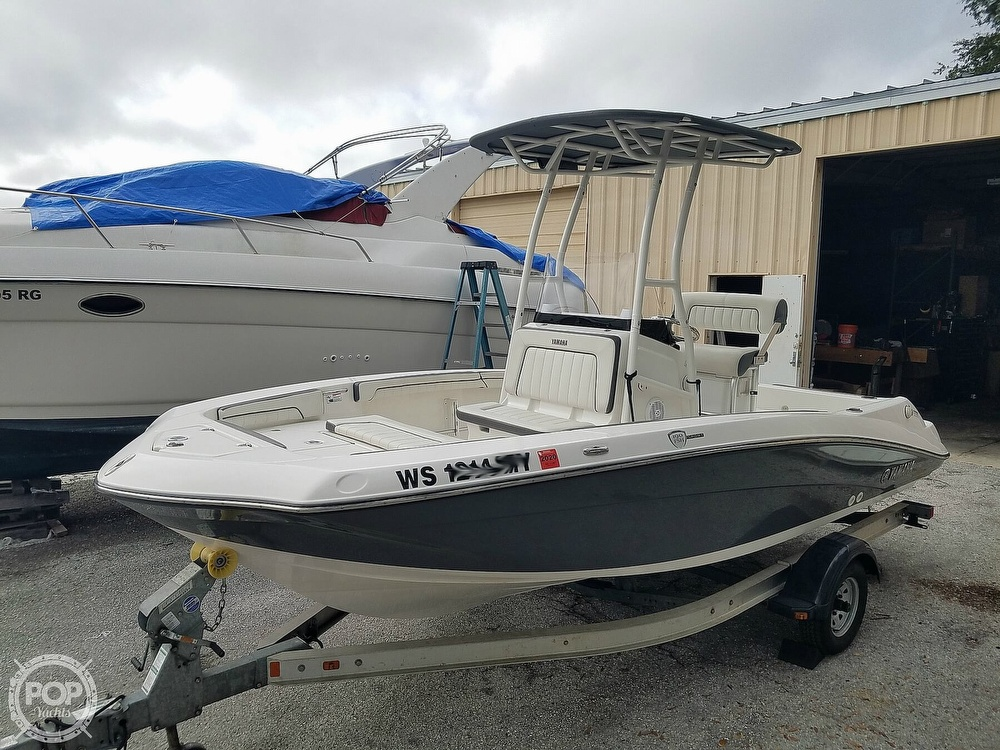 2016 Yamaha boat for sale, model of the boat is 190 FSH Sport & Image # 13 of 40
