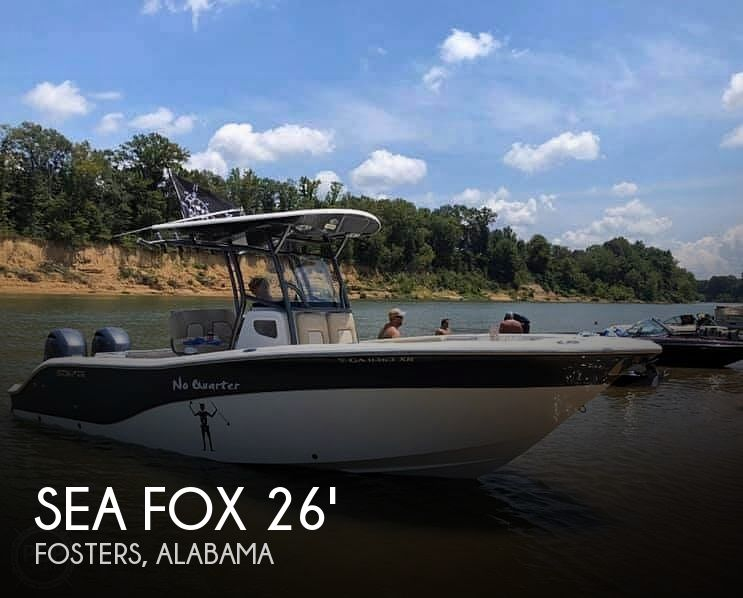 Used Sea Fox Boats For Sale by owner | 2016 Sea Fox 266 commander