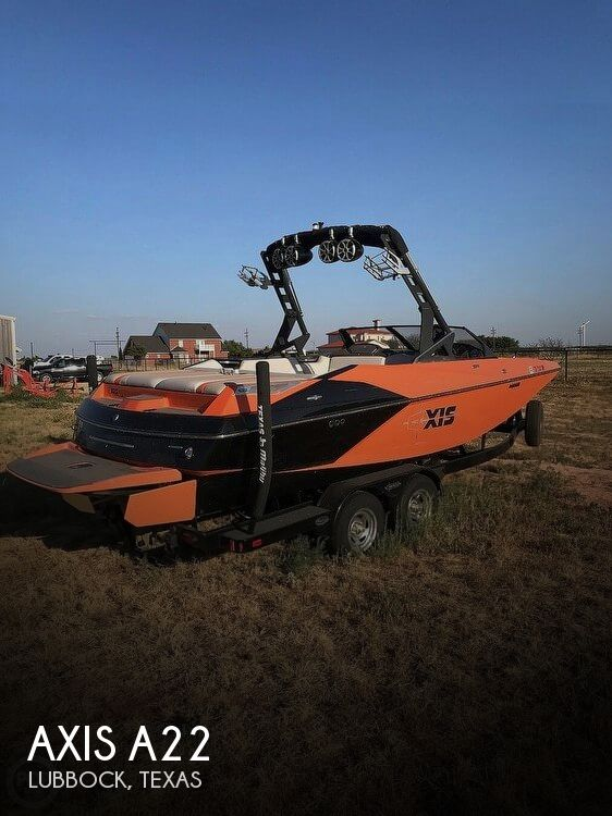 Used Boats For Sale in Lubbock, Texas by owner | 2015 Axis 22