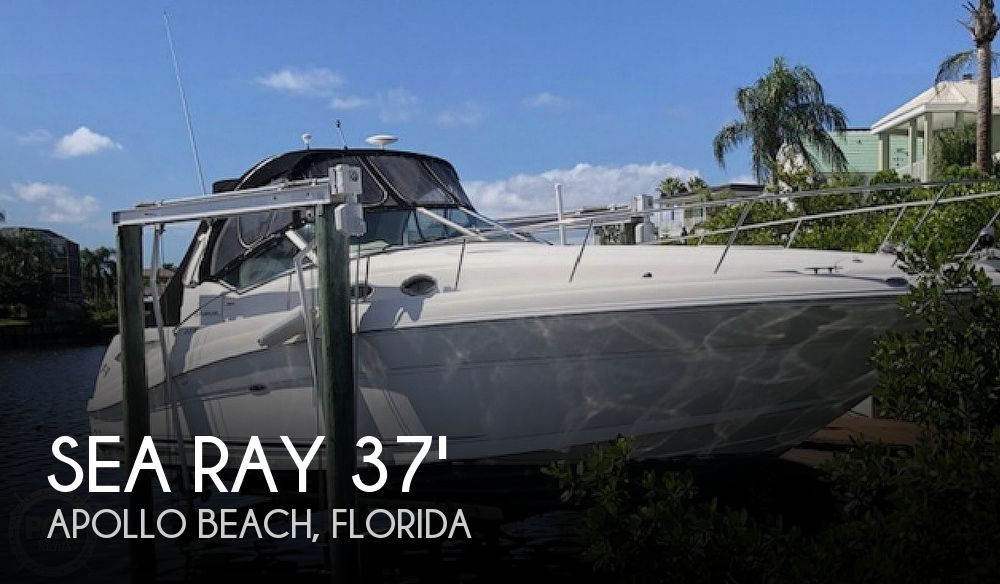 2003 Sea Ray boat for sale, model of the boat is 340 Sundancer & Image # 1 of 2