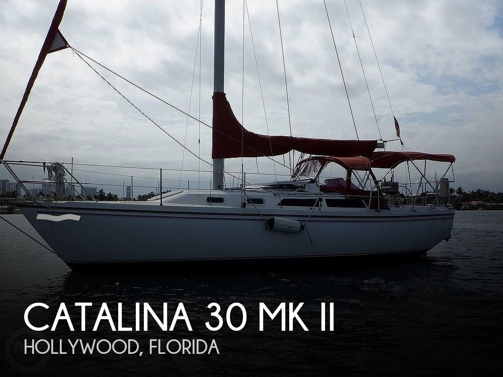 1987 Catalina Yachts boat for sale, model of the boat is 30 MK II & Image # 1 of 40