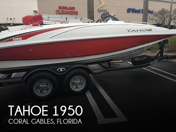 Used Tahoe Boats For Sale by owner | 2017 Tahoe 195