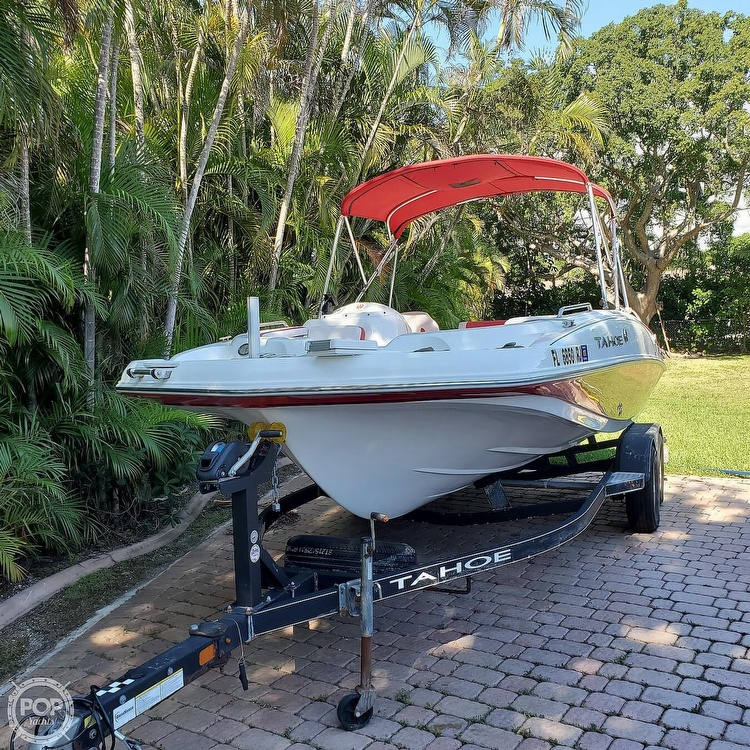 2017 Tahoe boat for sale, model of the boat is 195 & Image # 2 of 40