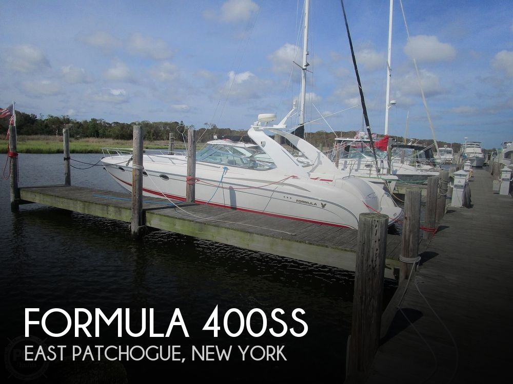 2001 Formula boat for sale, model of the boat is 400SS & Image # 1 of 40