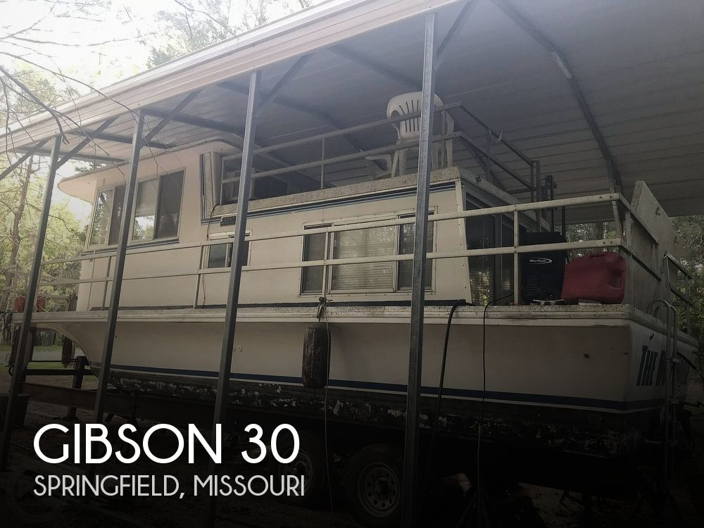Used GIBSON Houseboats For Sale in Missouri by owner | 1971 Gibson 30