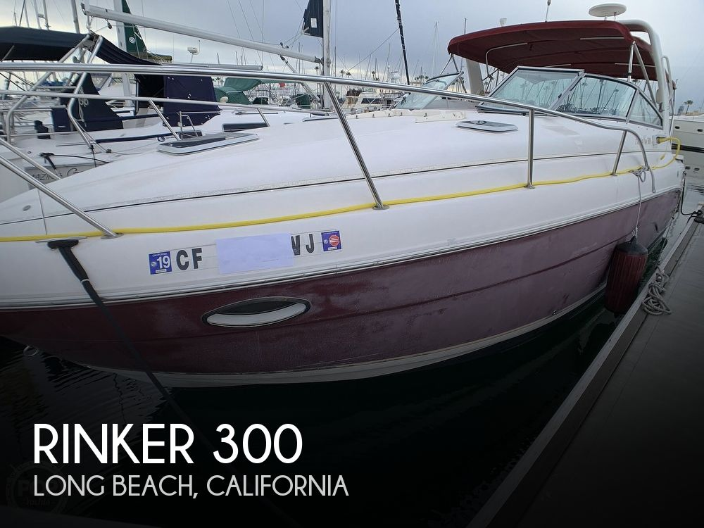 2005 Rinker boat for sale, model of the boat is Fiesta Vee 300 & Image # 1 of 40