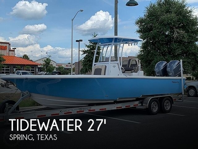 Used Tidewater Boats For Sale by owner | 2019 Tidewater 2700 Carolina Bay