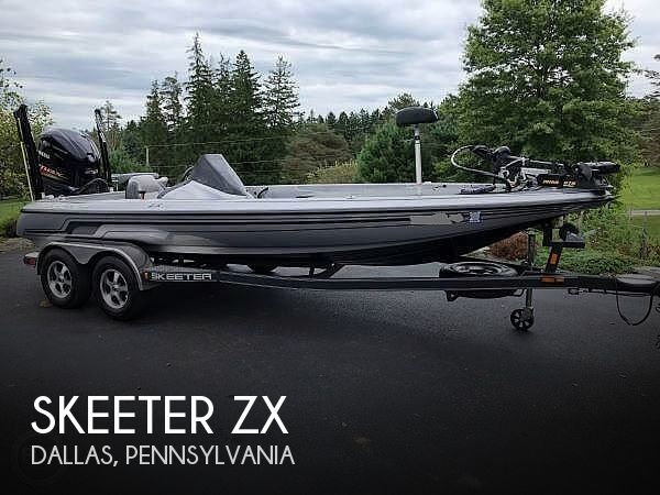 Used Boats For Sale in Scranton, Pennsylvania by owner | 2012 21 foot Skeeter ZX