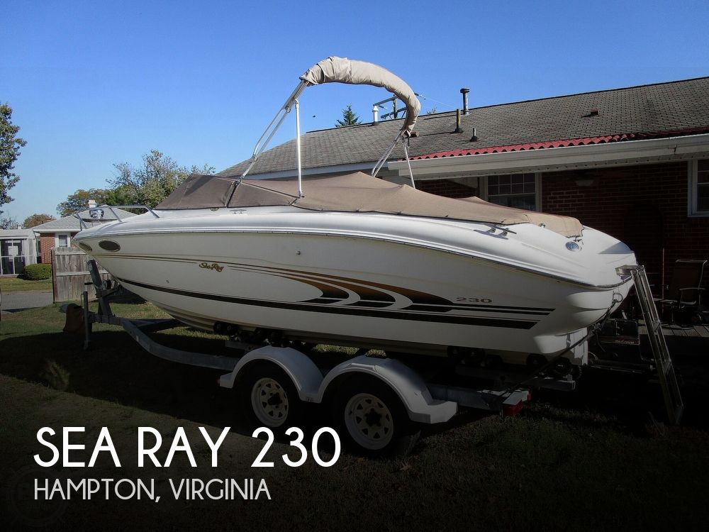 1997 Sea Ray boat for sale, model of the boat is 230 Signature & Image # 1 of 41