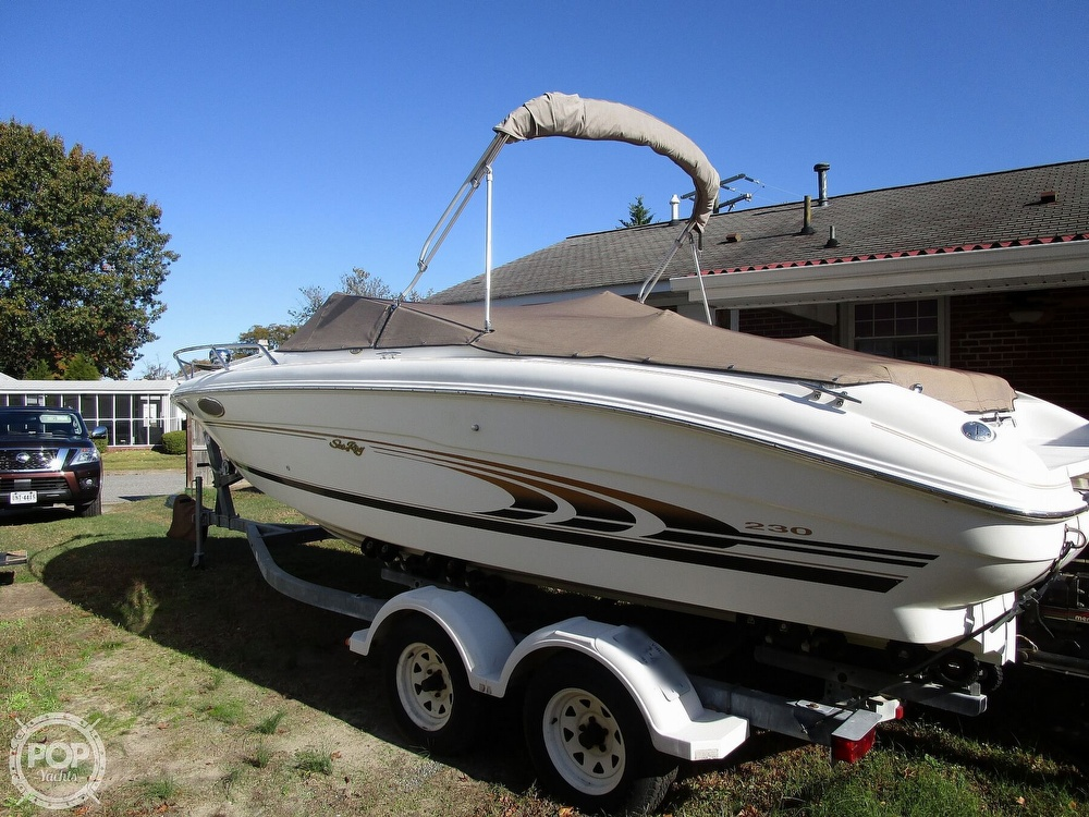 1997 Sea Ray boat for sale, model of the boat is 230 Signature & Image # 3 of 41