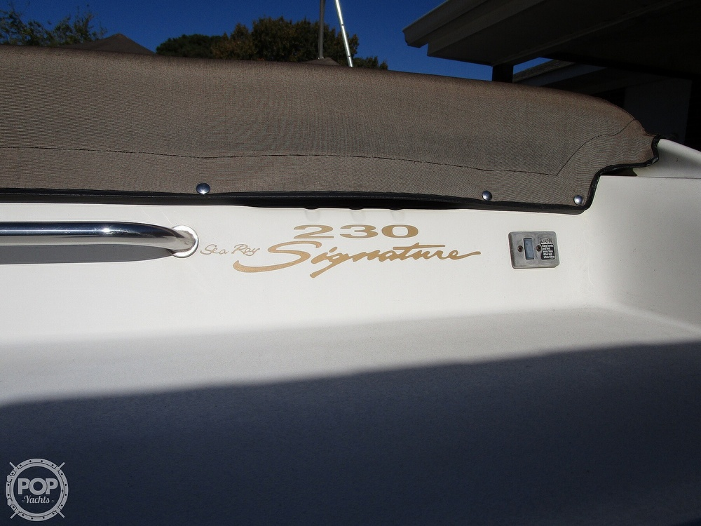 1997 Sea Ray boat for sale, model of the boat is 230 Signature & Image # 17 of 41