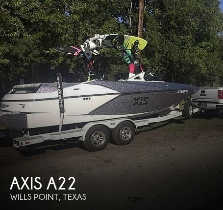 Used Boats For Sale in Tyler, Texas by owner | 2017 Axis A22