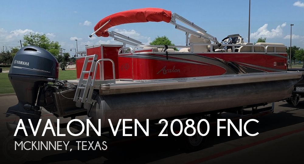 Used Pontoon Boats For Sale in Texas by owner | 2018 20 foot Avalon Venture