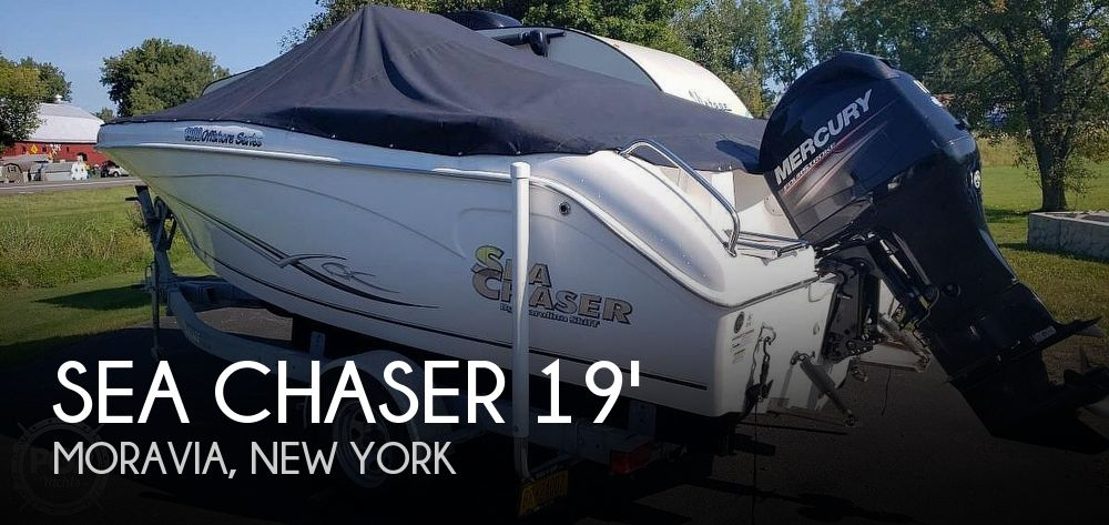 Used Ski Boats For Sale in Syracuse, New York by owner | 2012 Sea Chaser 1900 offshore