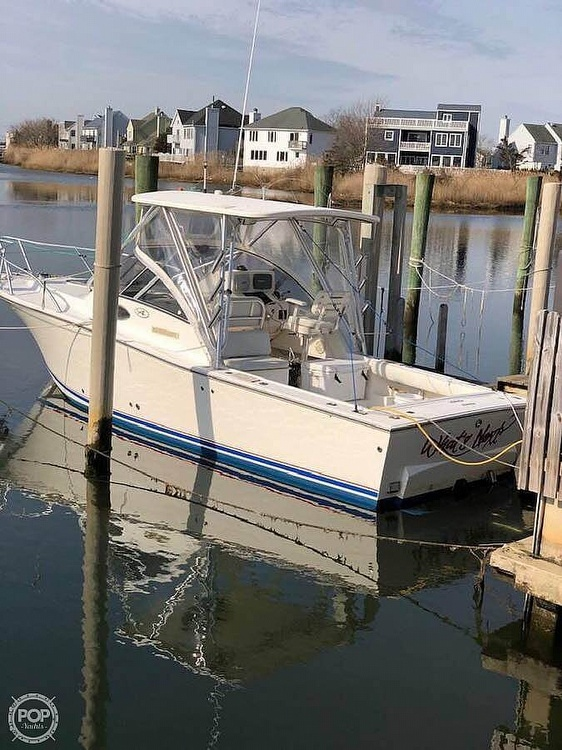 2003 Albemarle boat for sale, model of the boat is 268 Express Fisherman & Image # 12 of 40