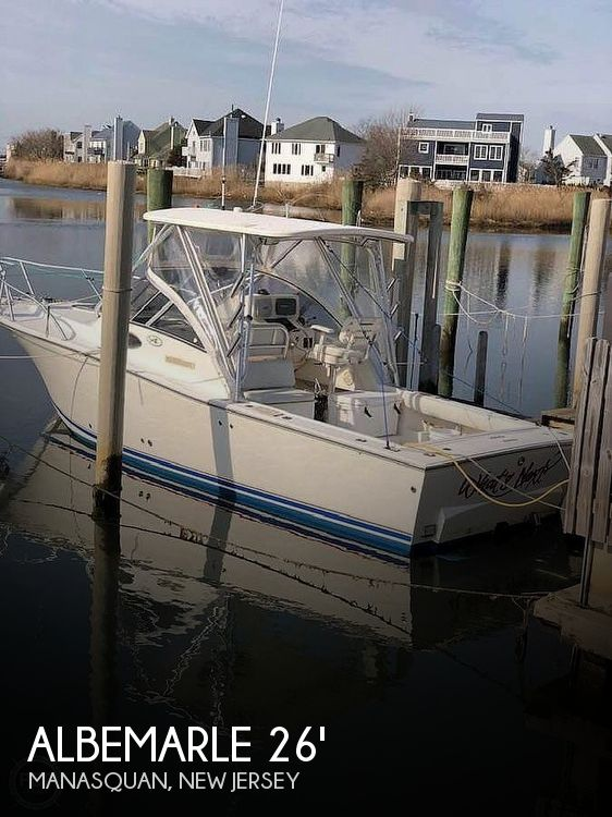Used Albemarle Boats For Sale by owner | 2003 Albemarle 268 Express Fisherman