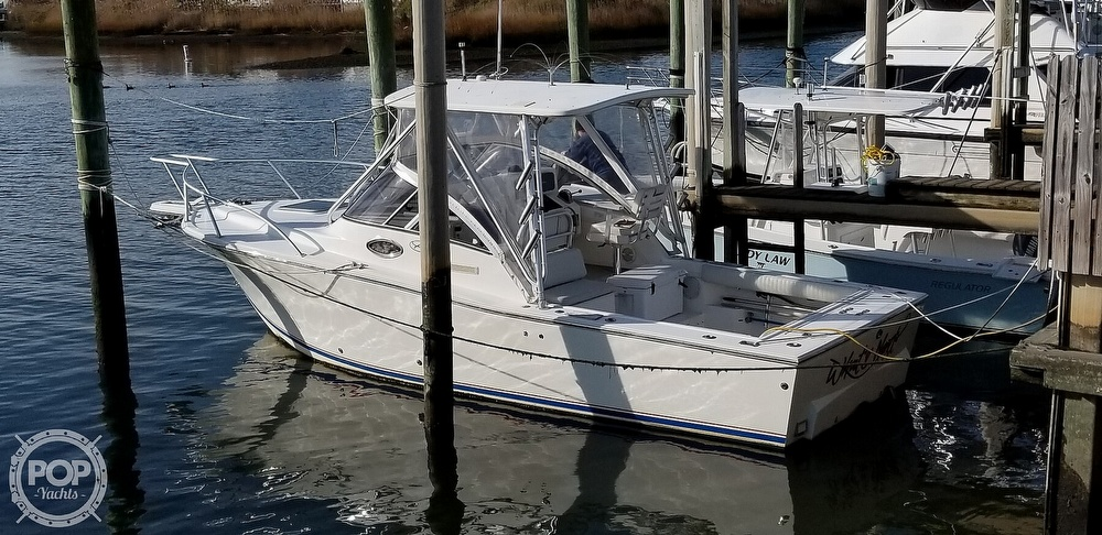 2003 Albemarle boat for sale, model of the boat is 268 Express Fisherman & Image # 19 of 40