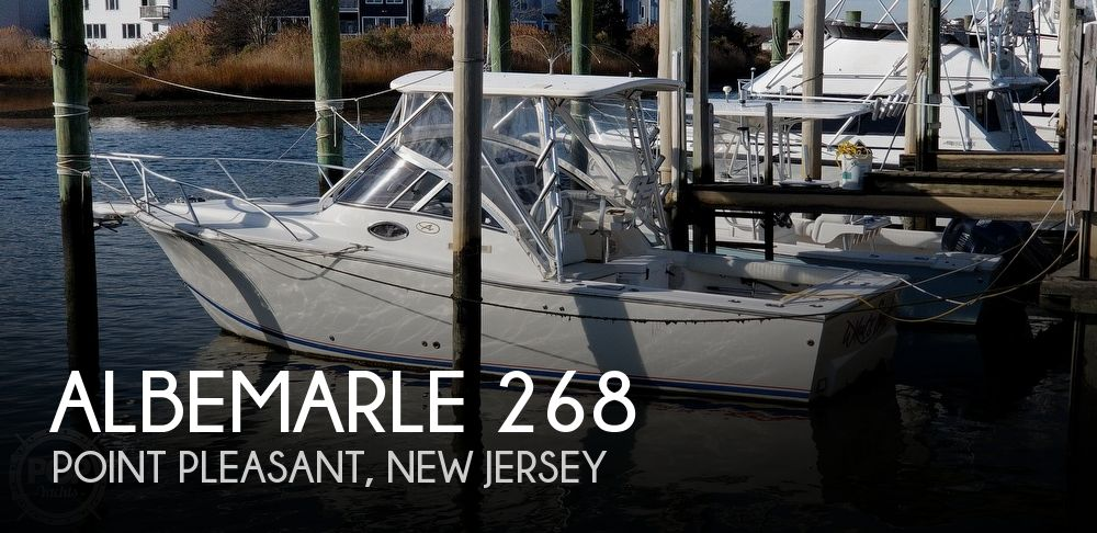 2003 Albemarle boat for sale, model of the boat is 268 Express Fisherman & Image # 1 of 40
