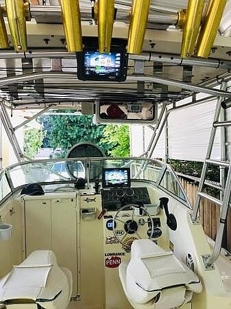 2001 United boat for sale, model of the boat is Sea Master 2588 & Image # 5 of 40