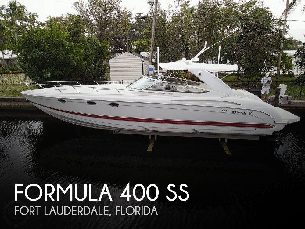 2001 Formula boat for sale, model of the boat is 400 SS & Image # 1 of 40