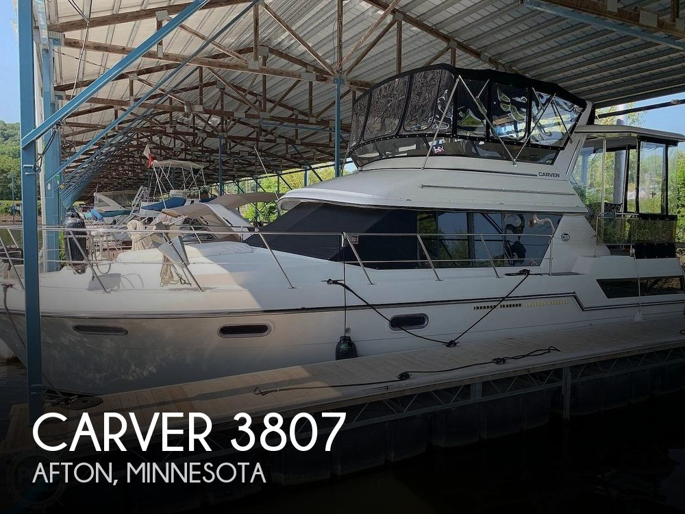 Used Boats For Sale in Minnesota by owner | 1988 Carver 38