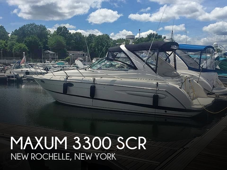 2000 Maxum boat for sale, model of the boat is 3300 SCR & Image # 1 of 40