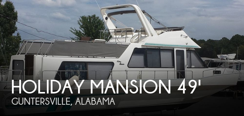 Used Houseboats For Sale in Alabama by owner | 1997 Holiday Mansion Coastal Commander 490