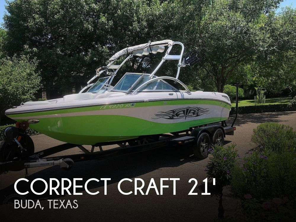 Used Correct craft Boats For Sale by owner | 2007 21 foot Correct Craft Air Nautique