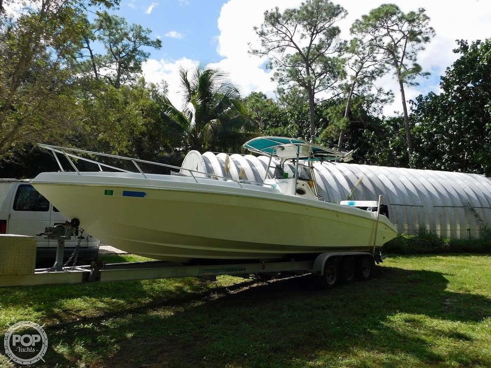 1998 Dakota boat for sale, model of the boat is 32 Cuddy & Image # 18 of 40